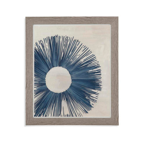 Bassett Blue Burst II Framed Art