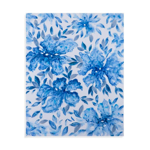 Bassett Blue Print  Canvas Art