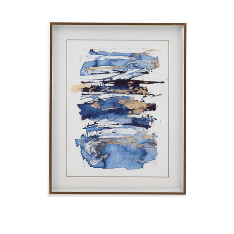 Bassett Blue Rapture I Framed Art