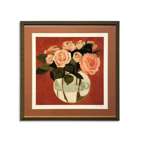 Bassett Bright Blooms I Framed Art