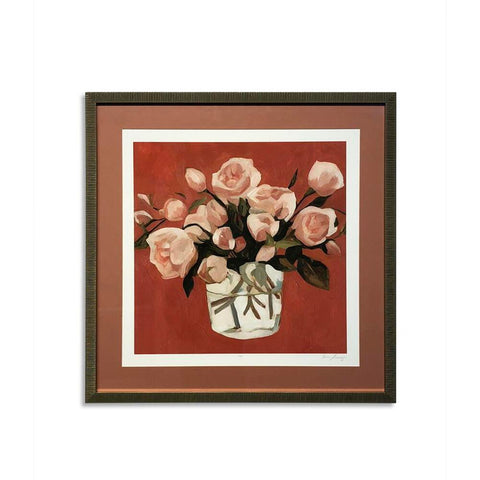 Bassett Bright Blooms IV Framed Art