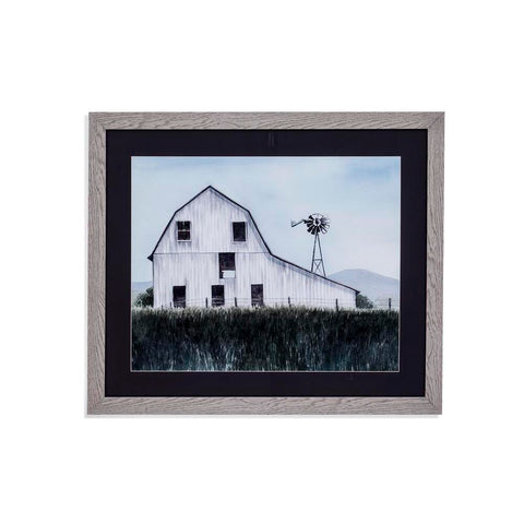 Bassett Bygone Barn I Framed Art