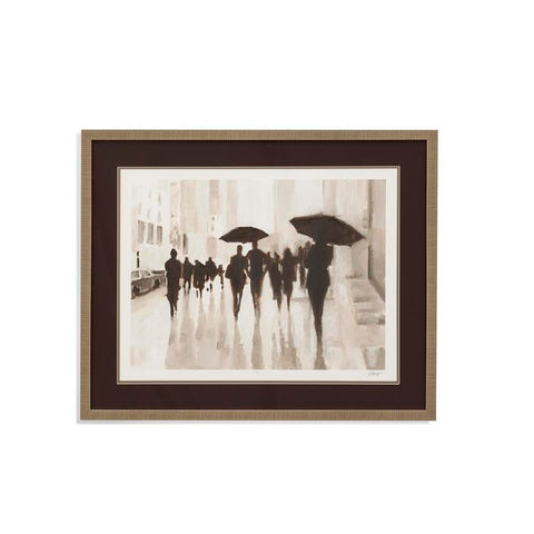 Bassett Clearing Rain Framed Art