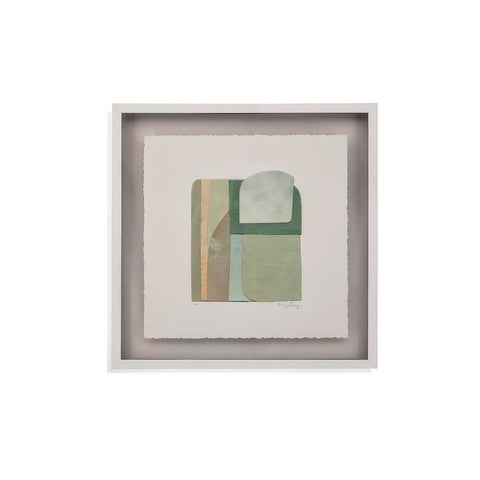 Bassett Color Structure I Framed Art