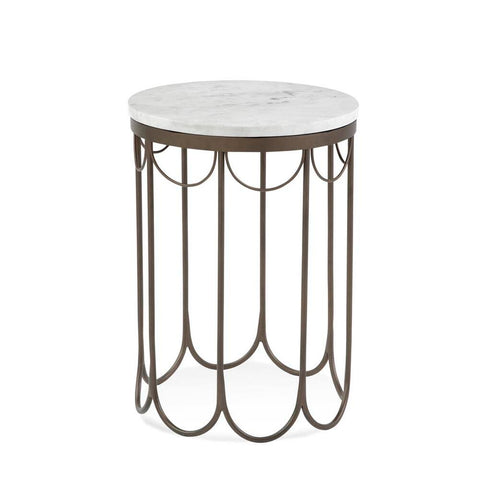 Bassett Covina Round End Table