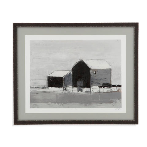 Bassett Dynamic Barn II Framed Art