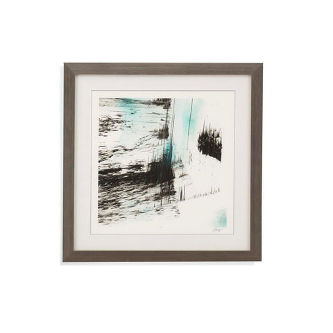 Bassett Dynamic Frost I Framed Art
