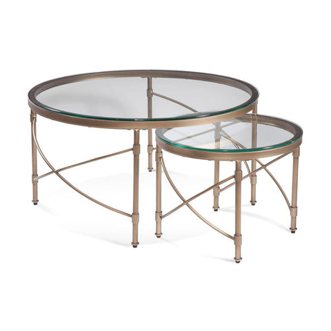 Bassett Harrison Round Cocktail Table