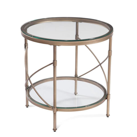 Bassett Harrison Round End Table