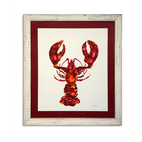 Bassett Lobster  Framed Art