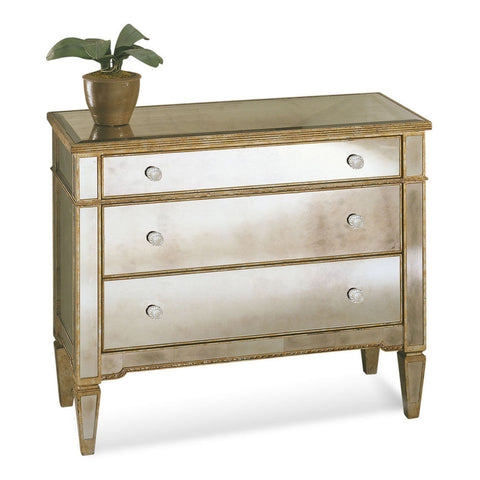 Bassett 8311-766 Borghese Mirrored Hall Chest