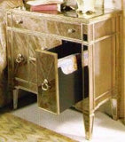 Bassett 8311-990 Borghese Mirrored Chairside Chest