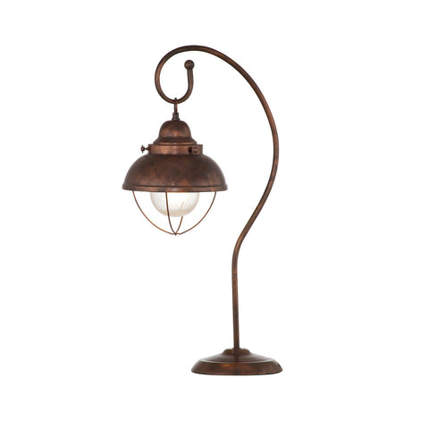 Bassett Alleghany Table Lamp - Copper Finish