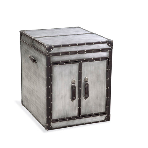 Bassett Belgian Modern Aeroway 2 Door End Table
