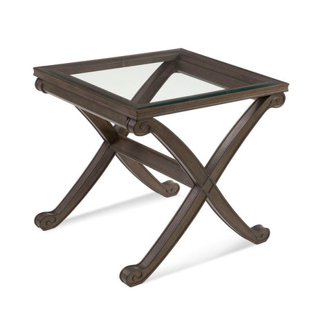 Bassett Belgian Modern Wellington II Rectangle End Table