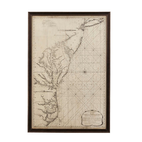 Bassett Coastal Chart of the East Coast