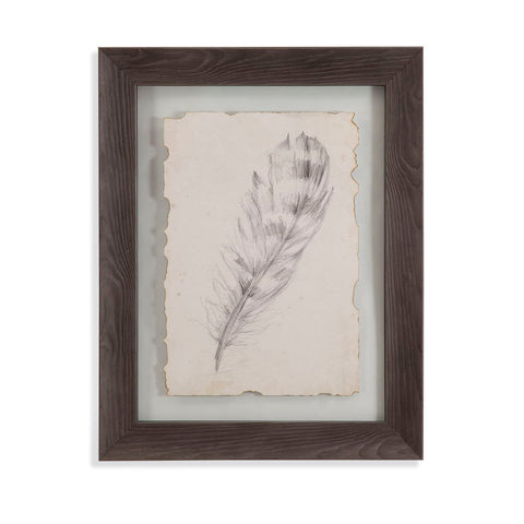 Bassett Mirror Company Feather Sketch II