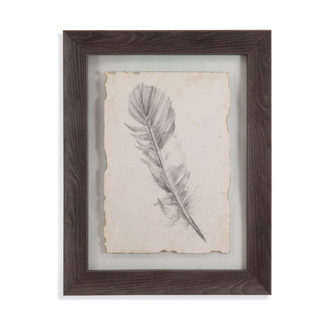 Bassett Mirror Company Feather Sketch I