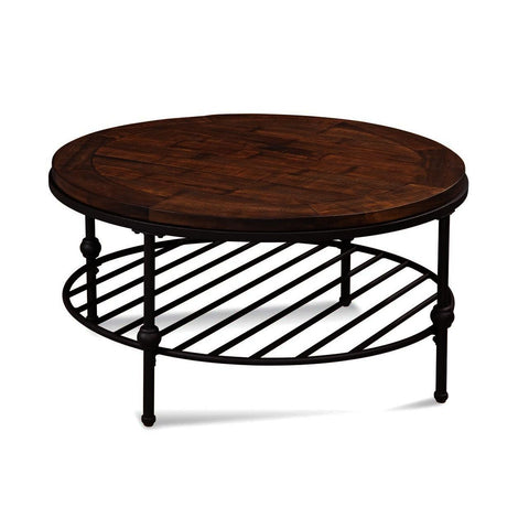 Bassett Mirror Emery Round Cocktail Table