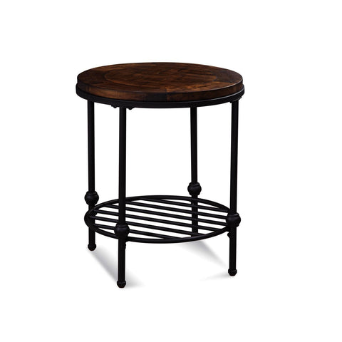 Bassett Mirror Emery Round End Table