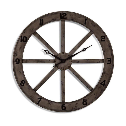 Bassett Mirror Farmhouse Wall Clock