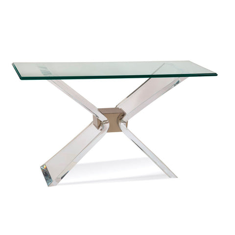 Bassett Hollywood Glam Silven Console Table