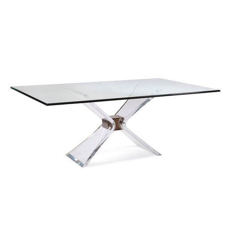 Bassett Hollywood Glam Silven Rectangle Dining Table