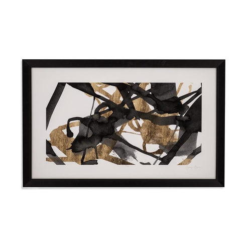 Bassett Mirror Luxe Gold II Framed Art