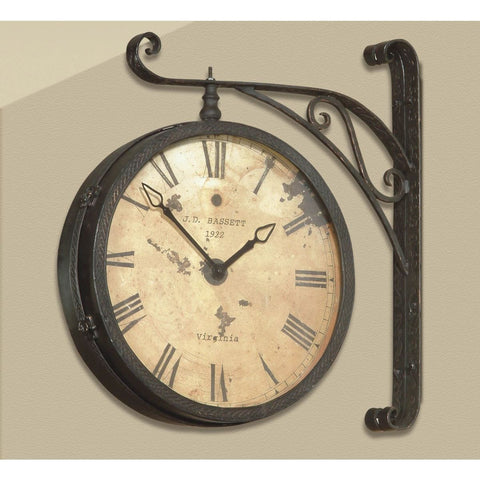 Bassett Old World Victorian RR Wall Clock