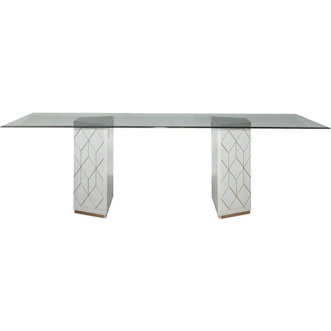 Bassett Mirror Perrine Dining Table