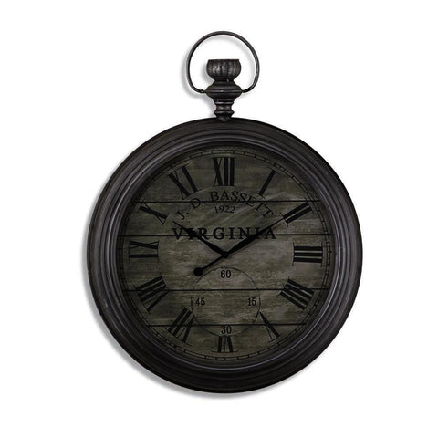 Bassett Mirror Pocketwatch Wall Clock