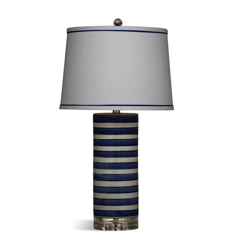 Bassett Mirror Regatta Stripe Table Lamp