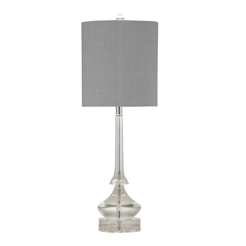 Bassett Rivoli Table Lamp - Crystal