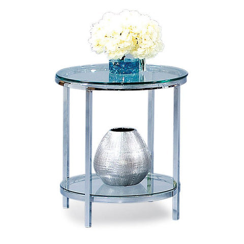 Bassett T1792-220 Patinoire Round End Table