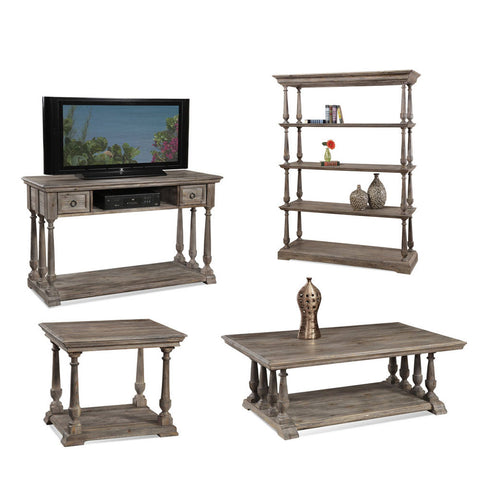 Bassett T2527 Pemberton Rectangular Coffee Table Set