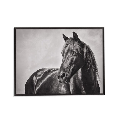Bassett Mirror The Stallion Framed Art