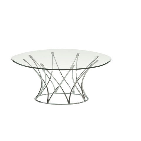 Bassett Thoroughly Modern Mercer Round Cocktail Table