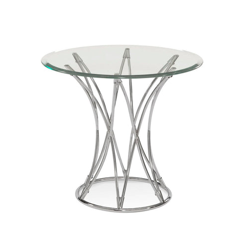 Bassett Thoroughly Modern Mercer Round End Table