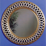 Bassett Transitions Alissa Wall Mirror in Champagne Leaf