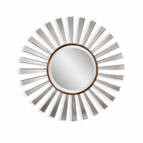 Bassett Transitions Fiorenza Wall Mirror in Bronze Gold