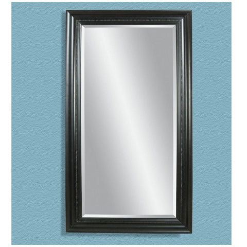 Bassett Transitions Kingston Rectangular Leaner Mirror in Ebony