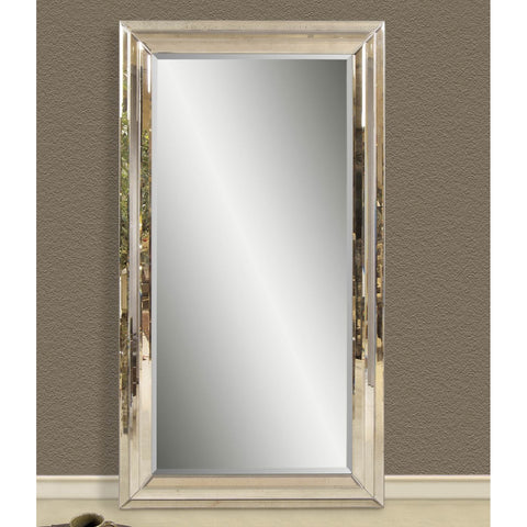 Bassett Transitions Rosinna Leaner Rectangle Antique Mirror