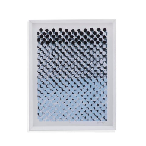 Bassett Perforation I Framed Art