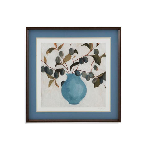 Bassett Plum Branch Assignment II Framed Art
