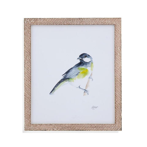 Bassett Watercolor Songbirds II Framed Art