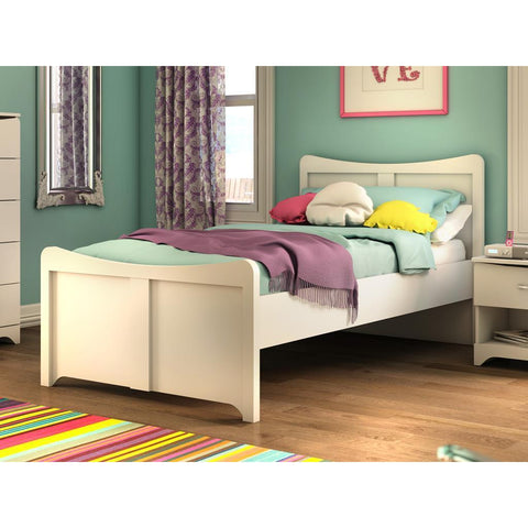 Bestar Juvenile 49220 Twin Bed In White
