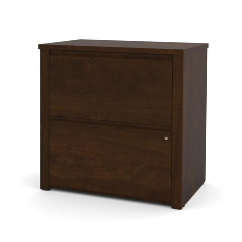 "Bestar Prestige Plus 30"" Lateral File In Chocolate"