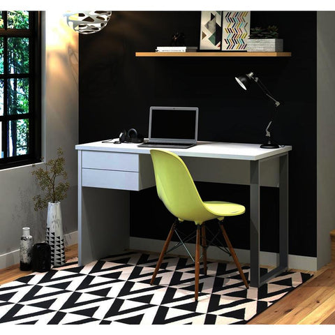 Bestar Solay Computer Desk in White