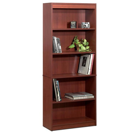 Bestar Standard Bookcase In Bordeaux