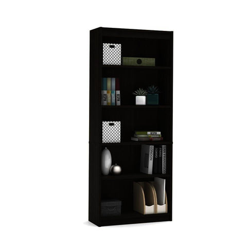 Bestar Standard Bookcase in Dark Chocolate
